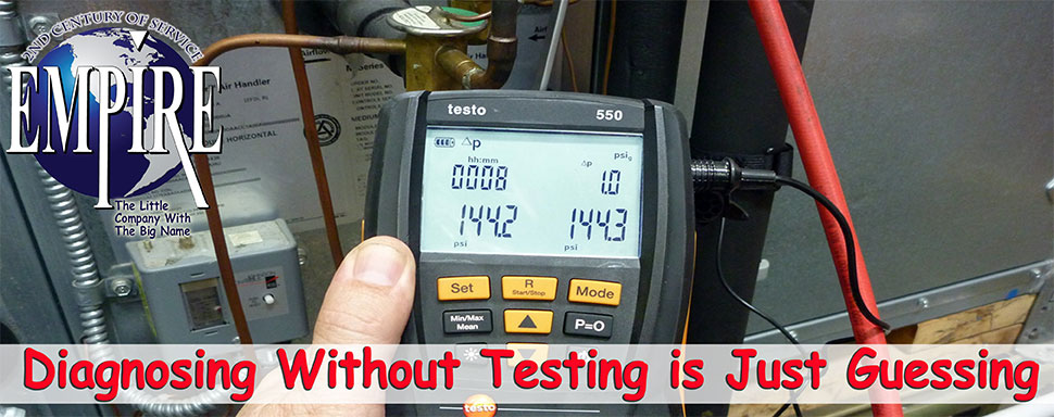 Home Air Conditioner Furnace Refrigerant Testing Freon